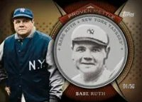 2013 Topps Series 2 Babe Ruth Coin