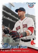 2013 Topps Opening Day Dustin Pedroia