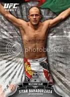 2012 Topps UFC Bloodlines Base