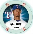2013 Topps Chipz Yu Darvish