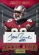2012 Panini Playbook Jerry Rice Auto