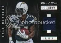 2012 Panini Black Ryan Mathews Jersey