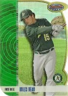 2012 Bowman Draft Miles Head