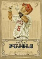 2013 Topps Series 1 Baseball Calling Card Albert Pujols Insert Card
