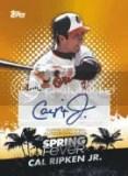 2013 Topps Cal Ripken Jr Spring Fever