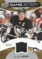 2012-13 UD Game Jersey Sidney Crosby