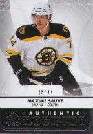 2012-13 Sp Game Used Maxime Sauve RC