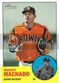 2012 Heritage Manny Machado Sp