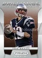 2012 Panini Prizm Tom Brady Brilliance