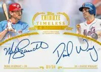 2013 Topps Tribute Dual Autographs