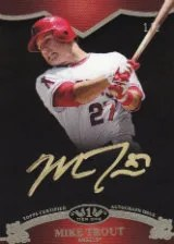 2012 Topps Tier One Mike Trout