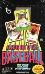 2013 Topps Archives Baseball Box