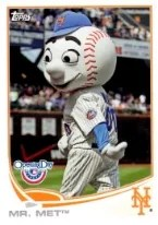 Topps Opening Day Mr Met Card