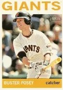 2013 Heritage Buster Posey Variation