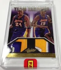 2013 Panini Black Box Team Tandems Kobe Bryant - Ron Artest