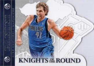 2012-13 Panini Knights of the Round #20 Dirk Nowitzki