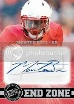 2013 Press Pass Montee Ball Autograph
