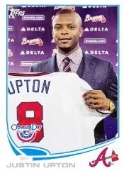 2013 Topps Opening Day #93 Justin Upton SP