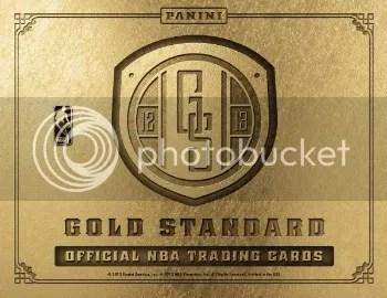 12/13 Panini Gold Standard Basketball