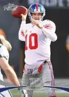 2012 Topps Prime Eli Manning