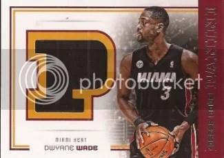 2012/13 Panini Dress Code Dwyane Wade Jersey Card