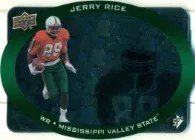 2013 UD SPx Jerry Rice Die Cut