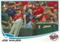 2013 Topps Joe Mauer Sp Variation