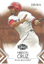 2012 Topps Nelson Cruz Triple Threads