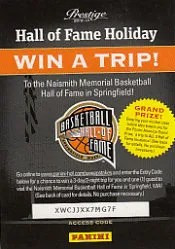 Panini Basketball HOF Code