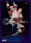 2012 Topps WWE Purple Border