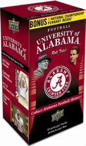 2012 University of Alabama Football Cards