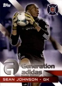 2014 Topps MLS Generation Adidas
