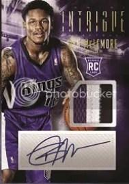 13/14 Panini Intrigue Basketball Ben McLemore RC Card