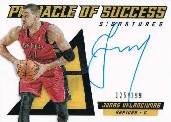 2013/14 Panini Pinnacle of Success Auto
