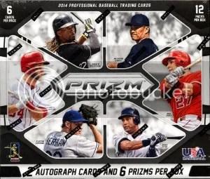 2014 Panini Prizm Baseball Hobby Box