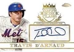 2014 Topps Chrome Travis D'Arnaud
