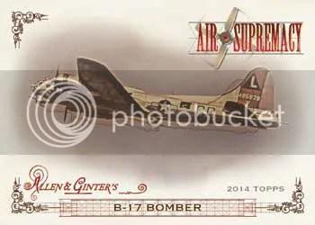2014 Topps Allen Ginter - Air Supremacy Insert