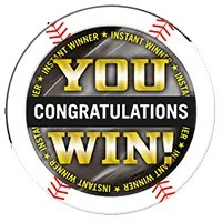 2014 Topps MLB Chipz Instant Winner Chipz