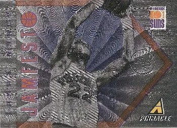 13/14 Pinnacle Larry Nance Jamfest Insert Card