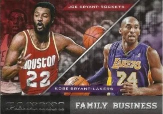 13/14 Panini Brand Family Business Kobe & Joe Bryant Insert