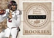 Upper Deck Quantum Johnny Manziel