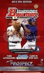 2013 Bowman Baseball Box