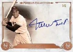 2014 Topps Museum Collection Willie Mays