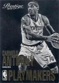 13/14 Panini Prestige Playmakers Carmelo Anthony