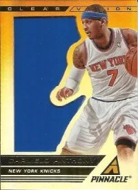 13/14 Pinnacle Clear Vision 1st Quarter Carmelo Anthony