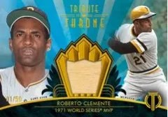 2014 Topps Tribute to the Throne Relic