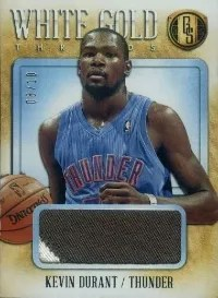 13/14 Panini Gold Standard Kevin Durant White Gold Prime