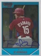 2007 Bowman Draft Travis d'Arnaud