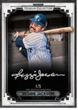 2014 Topps Museum Collection Reggie Jackson