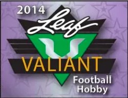 2014 Leaf Valiant Football